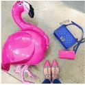 [써니라이프] 파티 헬륨 풍선 (플라밍고)