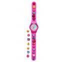 [스미글] 학생 패션 시계 (핑크)