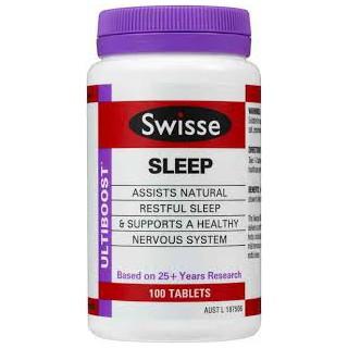 [스위스] 수면 100정 (sleep support)