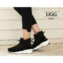 [오즈웨어] 호주 UGG 팸 방수스니커즈 (블랙)