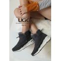 [오즈웨어] 호주 UGG 팸 방수스니커즈 (그레이)